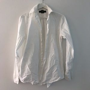 Banana republic relaxed fit button down shirt top